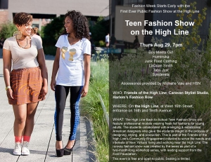 Highline Teen Fashion Show