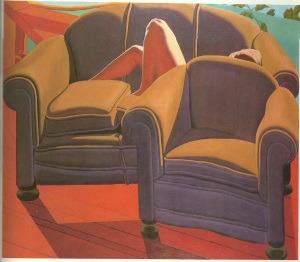 Jack Beal Interior With Furniture 1968